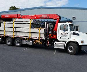 Miller Builders Supply Clean Truck